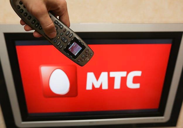 телевидение МТС через ЛК