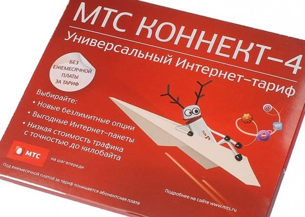 МТС коннект-4